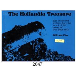 Lane & Son (Penzance). The Hollandia Treasure (September 21, 1973), signed by Rex Cowan (salvager fe