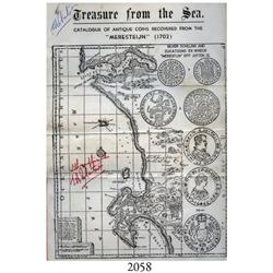 Robertson, J.A. (salvager). Treasure from the Sea (undated, 1975), signed twice by Robertson, very r