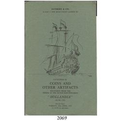 Sotheby & Co. (London). Catalogue of Coins and Other Artifacts Recovered from the Wreck of the Dutch