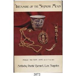 Sotheby Parke Bernet (Los Angeles). Treasure of the Spanish Main (June 17-19, 1973).