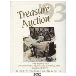 Trabucco/Trump Regency Hotel (Atlantic City, NJ). Treasure Auction '93 (January 28, 1993).