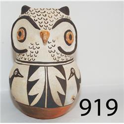 ACOMA POTTERY OWL POT