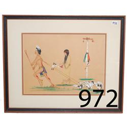 SIOUX PAINTING