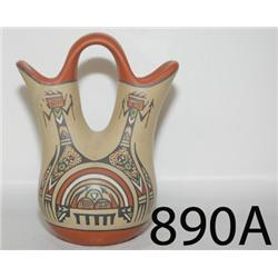 SANTA CLARA POTTERY WEDDING VASE