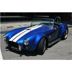 1965 Ford Shelby Cobra Replica Manufactured by Shell Valley