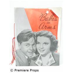 Babes in Arms, 1939, Orig. Pressbook Movie Memorabilia