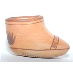 HOPI POTTERY BOOT