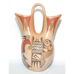 HOPI POTTERY WEDDING VASE