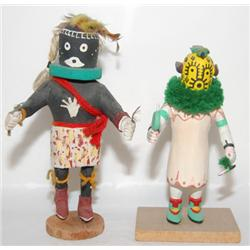 TWO HOPI KACHINAS