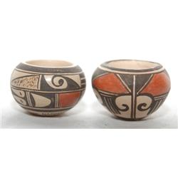 TWO HOPI POTTERY JARS