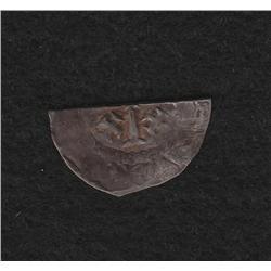 Henry II (1154-1180) 1/2  Penny Cut
