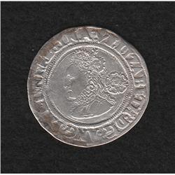 Elizabeth I (1558-1603) 1/2 Groat