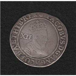 James I (1603-1625) Shilling