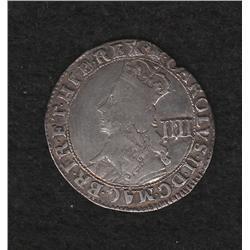 Charles II (1660-1685) Four Pence