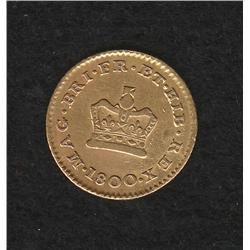 George III (1760-1820) Third Guinea 1800