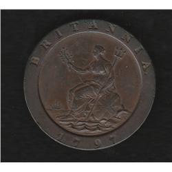 George III (1760-1820) Twopence 1797