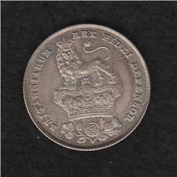George IV (1820-1830) Shilling