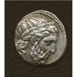 Philip II, 369-336 BC, tetradrachm, AR, postumous issue c. 320 BC