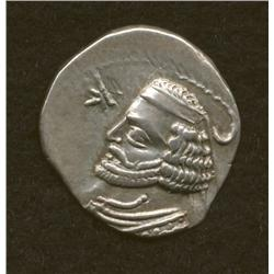 Orodes II, 57-38 BC, drachm, AR, bust and Nike/archer
