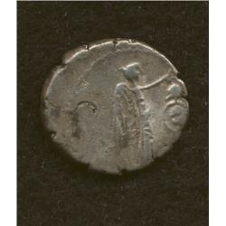Mark Antony & Lepidus, 43 BC, quinarius, AR