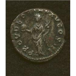 Marcus Aurelius, 161-180 AD, denarius, AR, laur. bust/Providentia