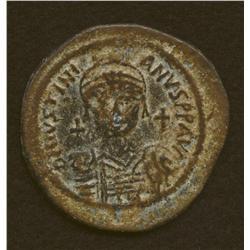 Justinian I, 527-565, follis, AE, Nicomedia mint