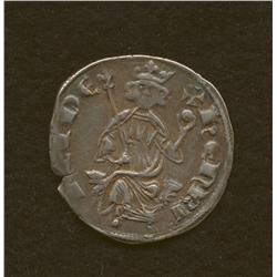 Henry II, 1310-24 second reign, grossi, AR, king enthroned/cross