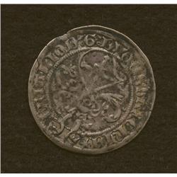 Elector Frederick III, 1497-1499, groschen, bi.