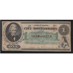 1847 State of Alabama $1