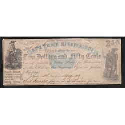 Missouri. 1862 Jackson $2.50