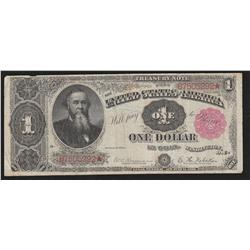 $1.00  1891  FR-350  Rosecrans-Nebeker