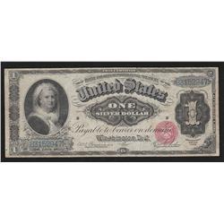 $1.00  1886  FR-215  Rosecrans-Jordan