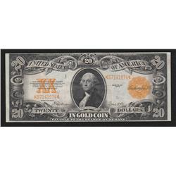 $20.00  1922 FR-1187 , Gold Certificate, Speelman-White