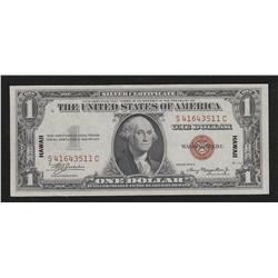 """$1.00 """"HAWAII"""" overprint"""