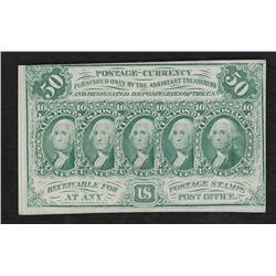 Group of Fifty Cent Fractionals