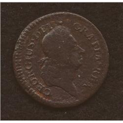 1722 Rosa Americana Halfpenny