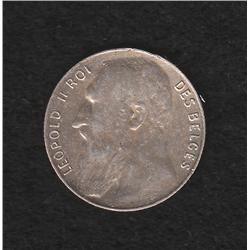 Belgium , 50 centimes , 1901