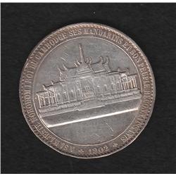 Cambodia , medal , 1902