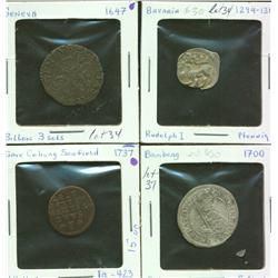 Lot of Seven German States Coins