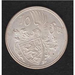 Luxemburg , 10 francs , 1929