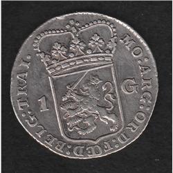 Netherlands , Utrecht , 1 g , 1784