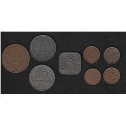 Lot of fourteen Netherlands pieces