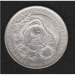Guatamala , 1 peso , 1894