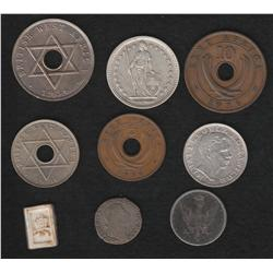 Lot of Miscellaneous World Coins