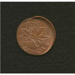 1980 Canadian One Cent