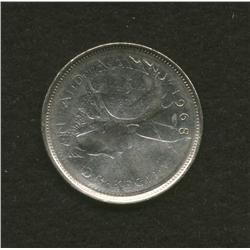 1968 Canadian Twenty Five Cent