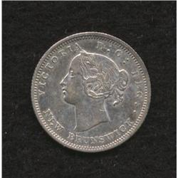 1862 New Brunswick Five Cent