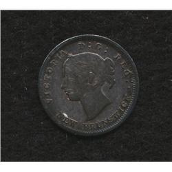 1864 New Brunswick Five Cent