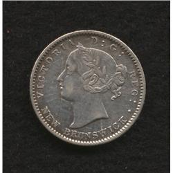 1862 New Brunswick Ten Cent