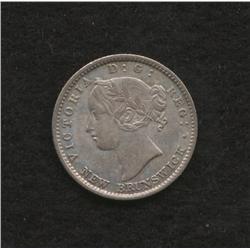 1864 New Brunswick Ten Cent